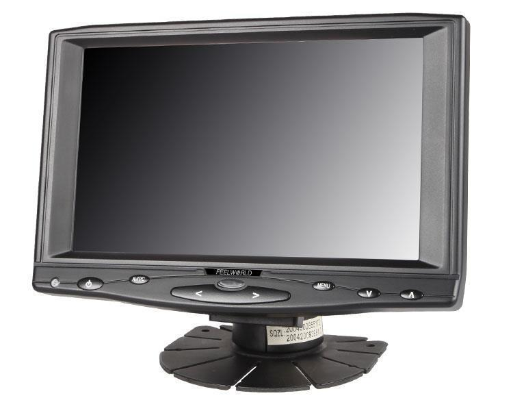 7 1024x600 IPS LCD Touch Screen Monitor With HDMIVGAAV Input FW619AHT Draco Broadcast Inc