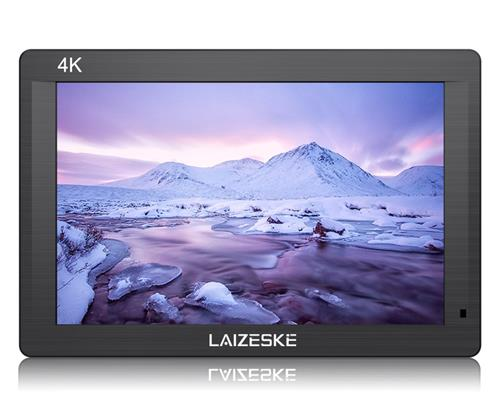 LAIZESKE DRH7 7″4K On-camera Monitor with HDMI Input/ Output IPS Full HD 1920x1200